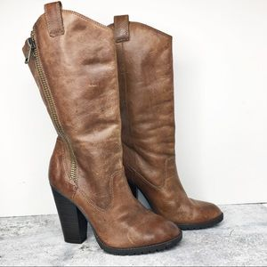 Jessica Simpson Dee Heeled Boots Size 7 1/2